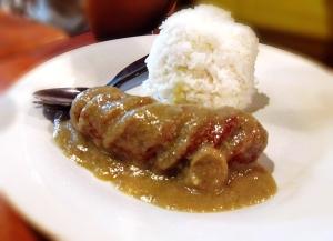 Boyong's Hungarian Sausage Rice Meal