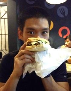 Boyong's Half Pounder