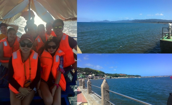 Mauban port, the gateway to Cagbalete