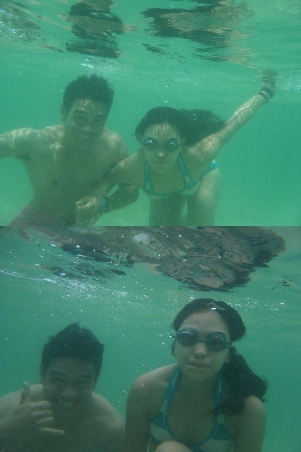 Underwater shots!