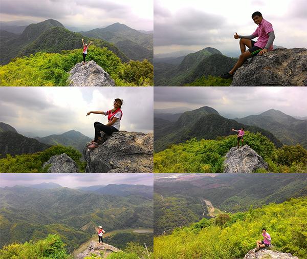 Mt. Binacayan's summit!
