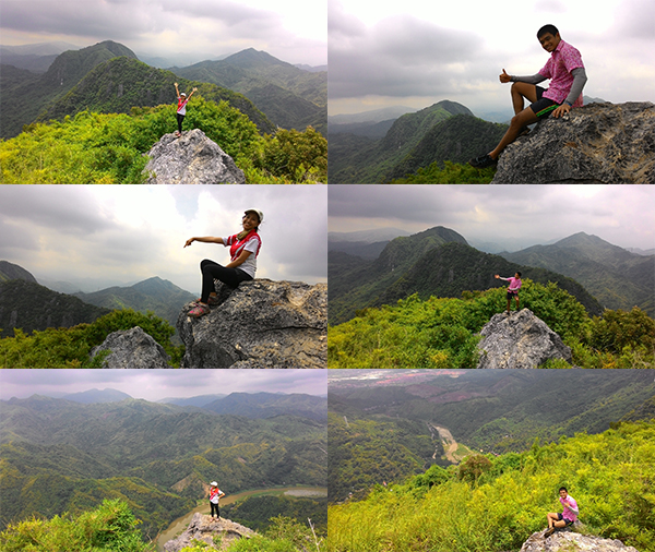 Mt. Binacayan's summit!