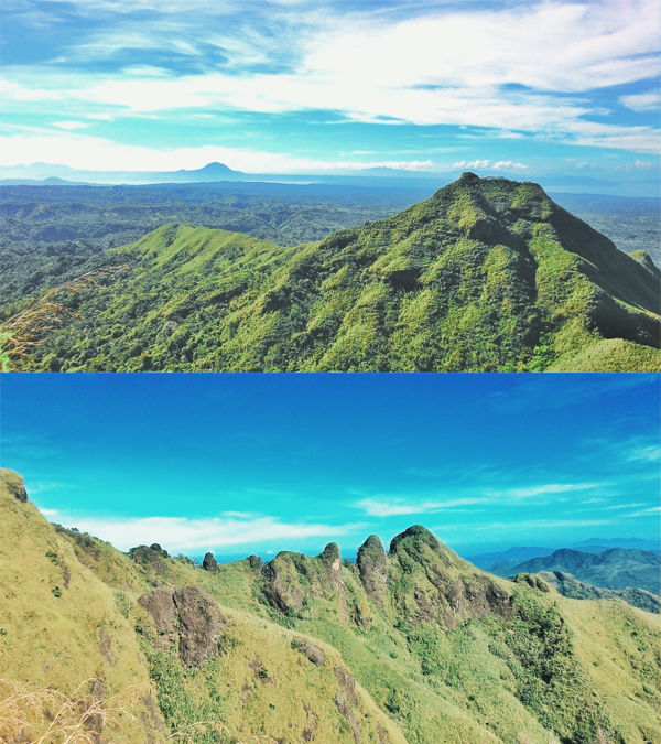 Little Maculot and the peaks
