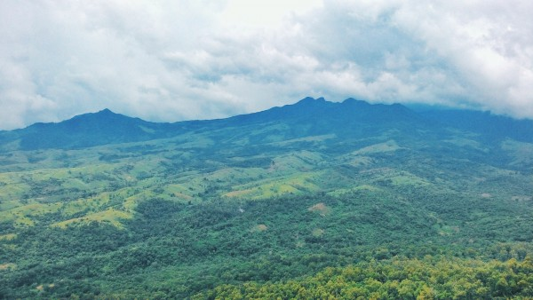 Mariveles mountain range looking beautiful