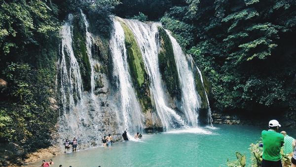 The falls itself