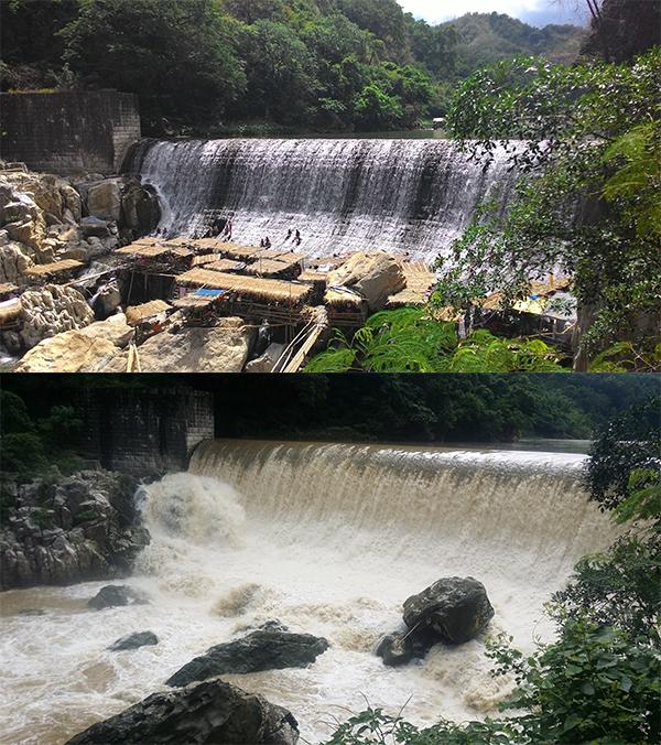 Wawa Dam, more like Kawawa Dam.