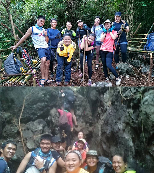 With the Paang Layas Mountaineers