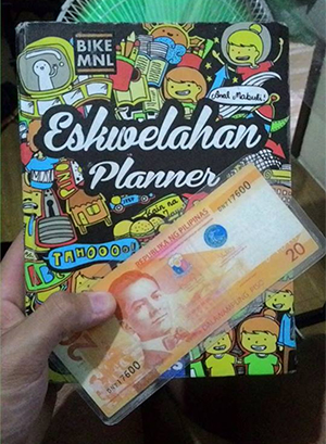 Planner and my P20 bookmark