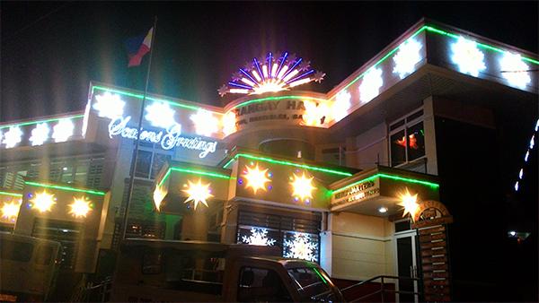 Christmas time at the baranggay