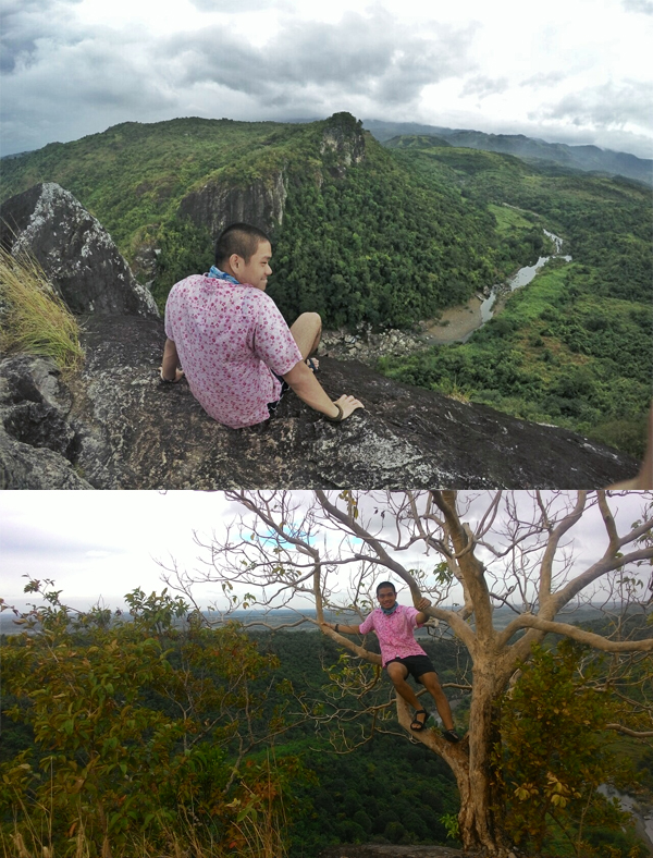 The standard summit shot and the world tree, akin to that of the one at Tarak ridge
