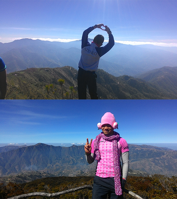 Pink at the Peak for Luzon's 3rd and 2nd tallest peaks!