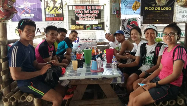 Post run R&R, thank you Team Conquer for the hospitality!