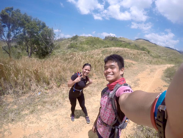 With Jeka along the trail