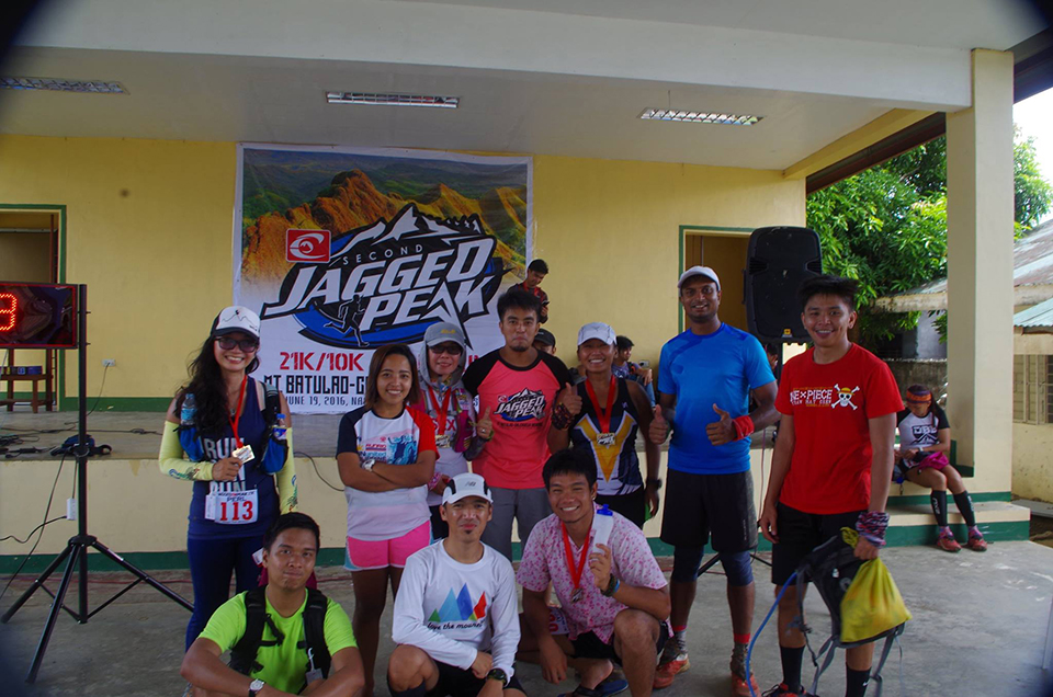 Picture with the Race Director