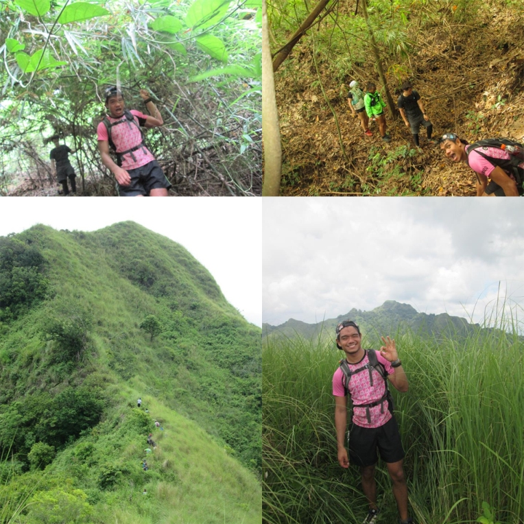 Facing Toong and reaching the top of the Susong Dalaga peak