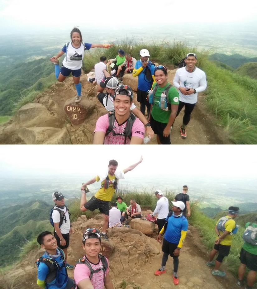 Playing around at the summit of Batulao