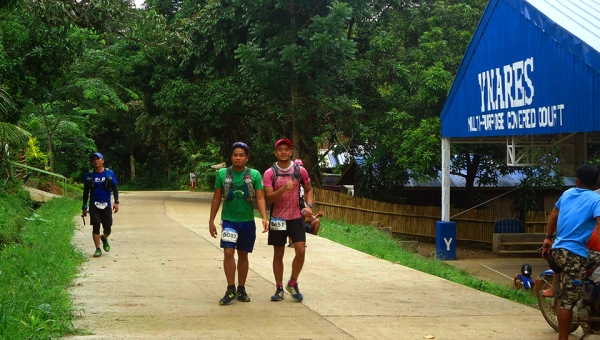 Going strong before the Mt. Natad traverse with Darell