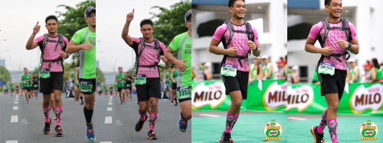 Faces only a Milo Marathon can make you do