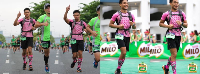 Faces only a Milo Marathon can make you do