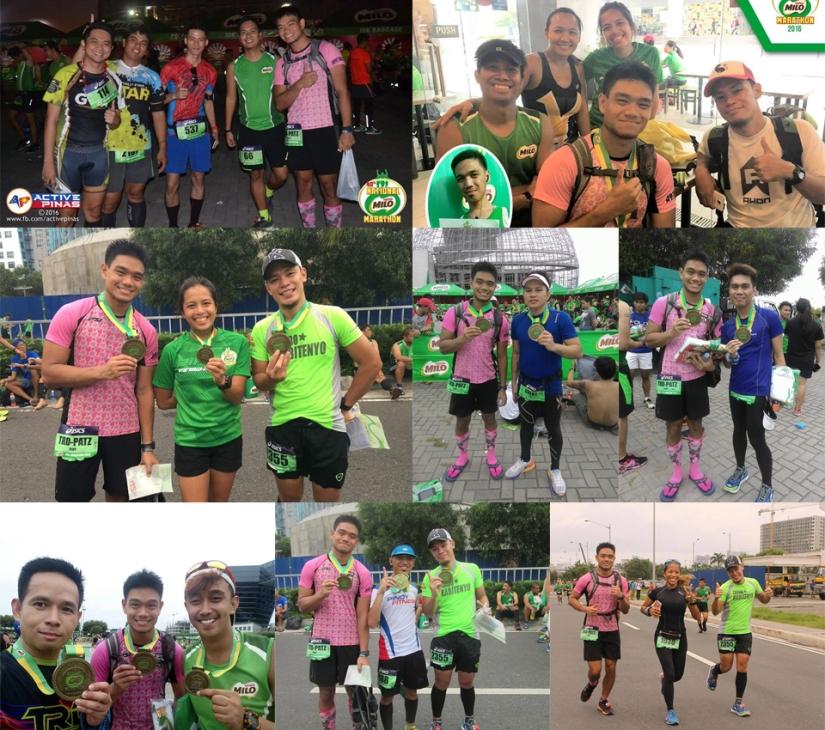 Wonderful running friends