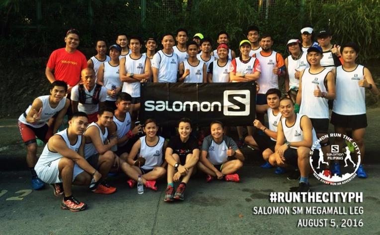 Participants of Salomon Run the City: Pasig Edition