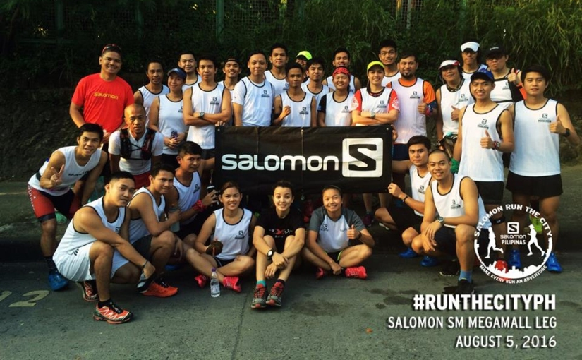 Participants of Salomon Run the City: Pasig Edition