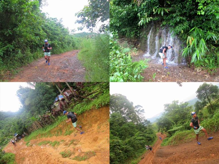 Various parts of the trail to Lubog