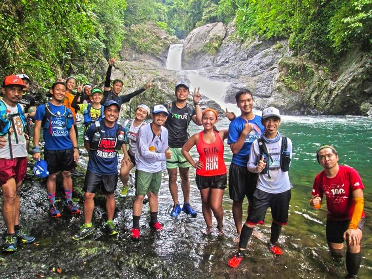 Trailfriends at Matulid falls