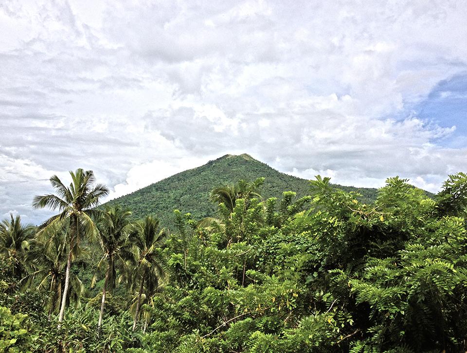 Mt. Kalisungan from the Mt. Prinza's trail