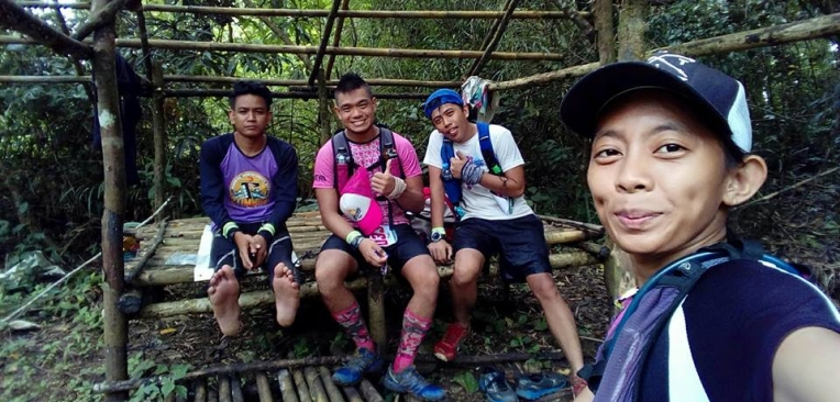 At the turning point of Mt. Toyang with Io