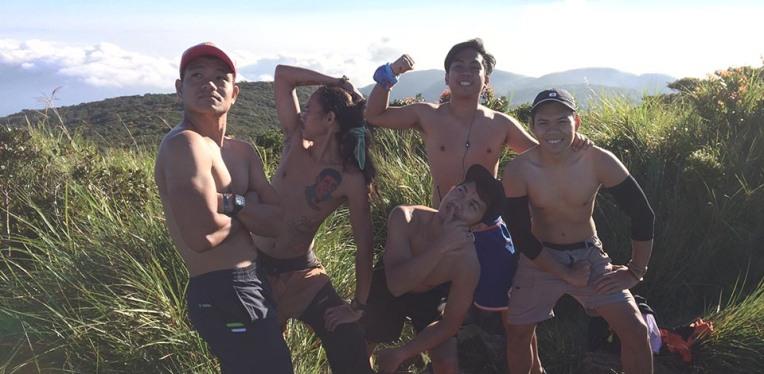 Boy band at the summit