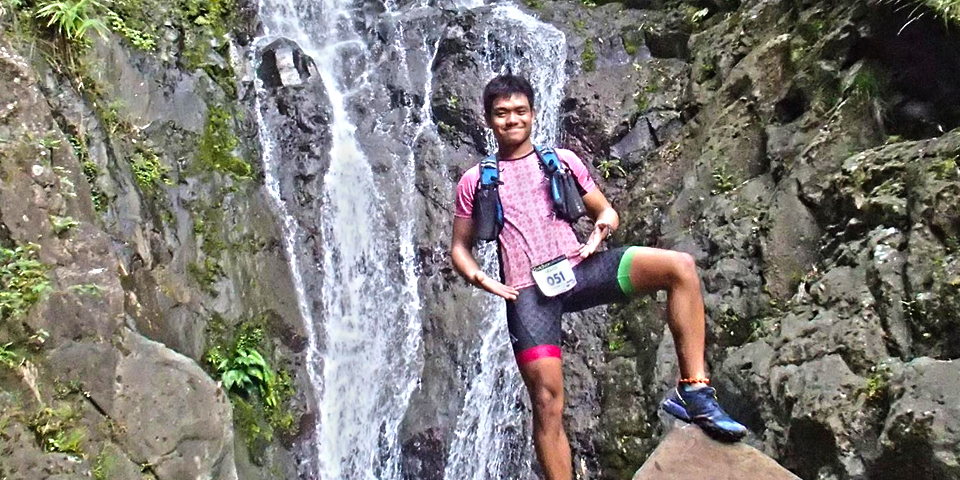 At the Paniquian falls still feeling refreshed