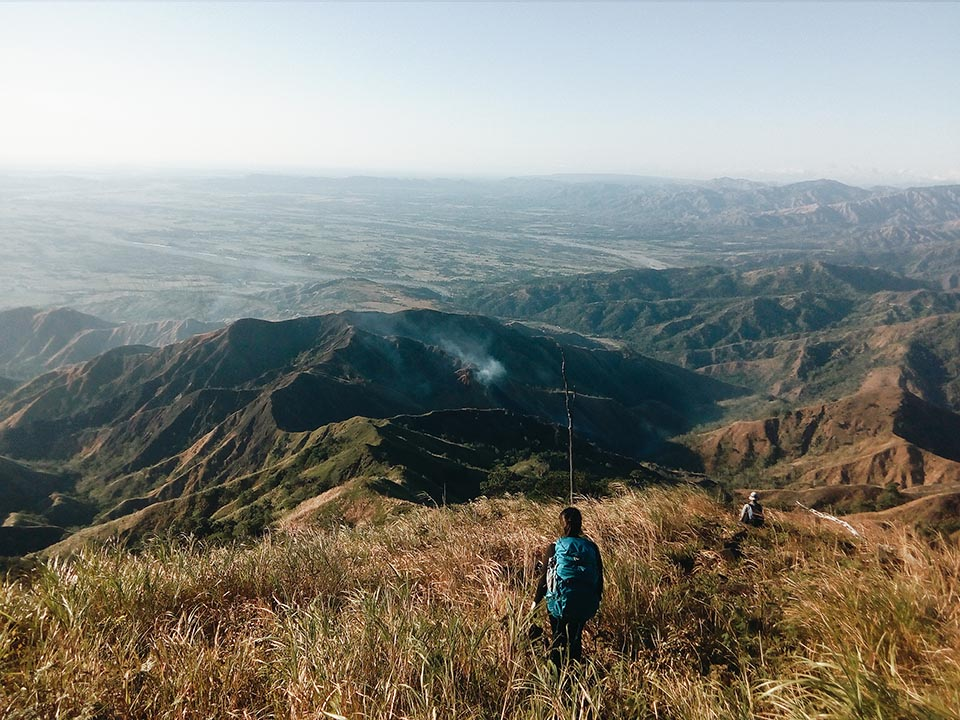 After Mt. Simagaysay is very long and very challenging Duhat ridge