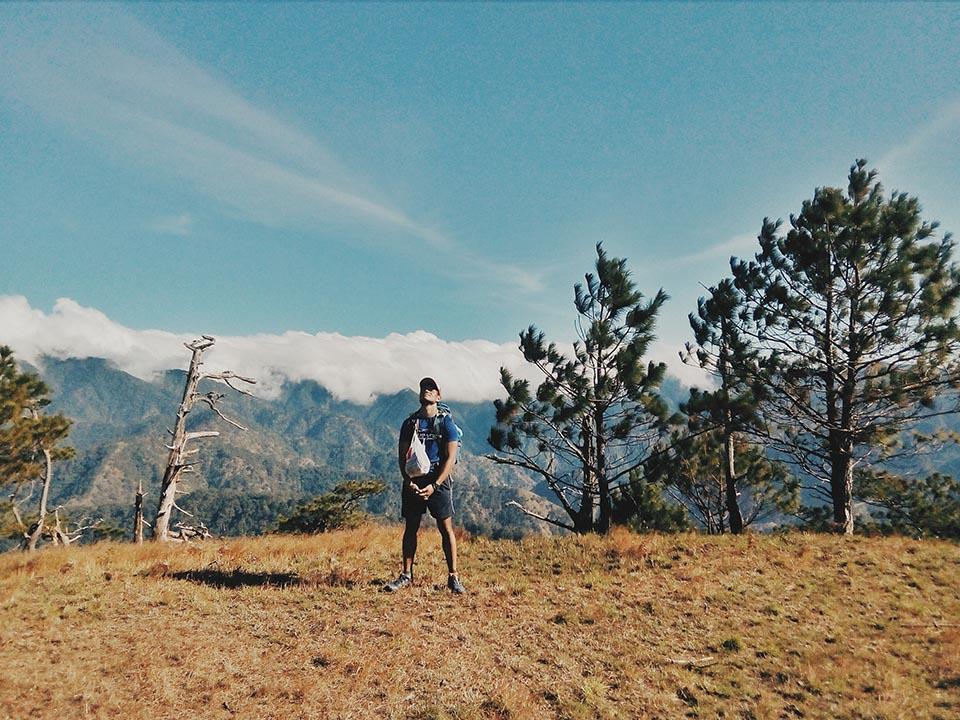 So pleased at myself upon reaching Mt. Timarid's summit